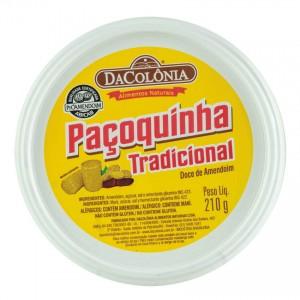Paçoca Rolha Tradicional DACOLONIA 210g