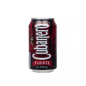 CUBANERO - Kubanisches Bier - Cerveza Cubana 5,4% vol., Dose 355ml
