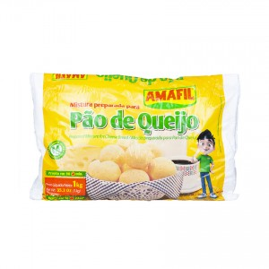 AMAFIL Fertigmischung für Käsebrote - Mistura para Pão de de Queijo, 1 kg