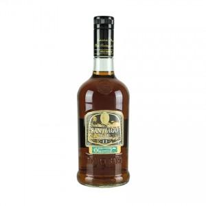 SANTIAGO DE CUBA Brauner Rum-11 Jahre- Ron Añejo Superior 11 Años 700ml 40% vol