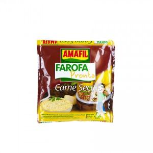 Farofa Pronta Carne-Seca AMAFIL 250g
