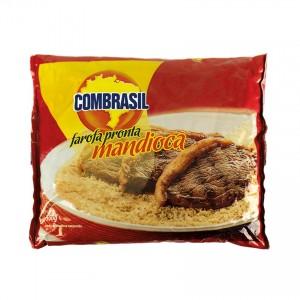 COMBRASIL Maniokmehl, gewürzt Farofa Pronta de Mandioca 500g