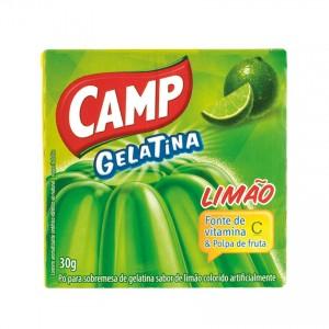 CAMP - Wackelpudding Limette - Gelatina Limão, 30g