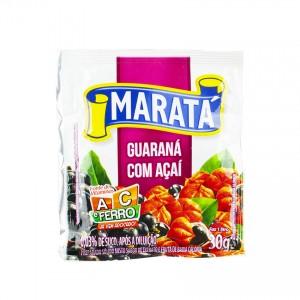 MARATÁ Pulver für Erfrischungsgetränk mit Acaigeschmack Refresco em Pó Açai Com Guaraná 30g