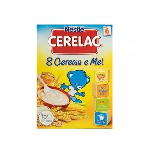 CERELAC 8 Cereais e Mel 250g