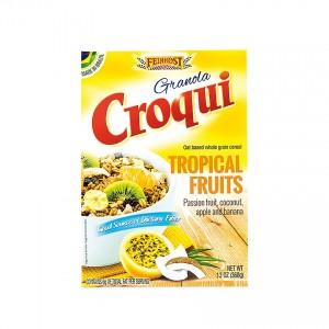 CROQUI Knuspermüsli mit Tropischen Früchten Granola Frutas Tropicais 368g