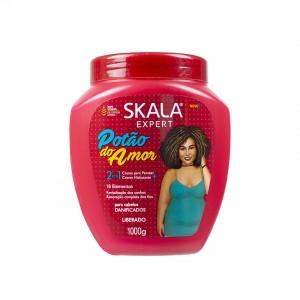 SKALA Potão do Amor Haarpflegemittel - 2 em1 Creme para  Pentear + Hidratação, 1 kg