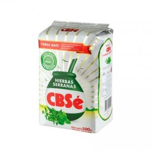 CBSE Mate-Tee mit Bergkräutern Yerba Mate Hierbas Serranas 500g