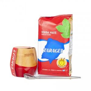 TARAGUI Mate-Tee Set- Set para Té Mate