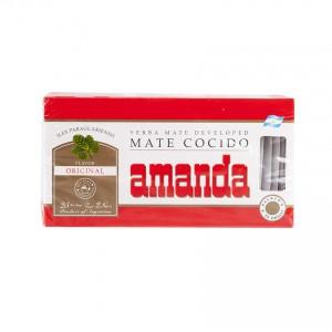 AMANDA Mate-Tee in Teebeutel Yerba Mate cocida en saquitos 75g