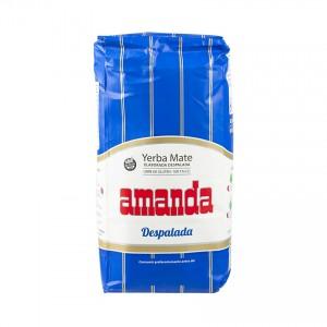 Yerba Mate AMANDA Despalada ohne Stängel 1kg