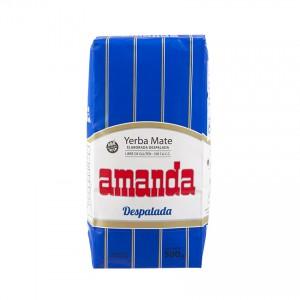 Yerba Mate AMANDA Despalada ohne Stängel 500g