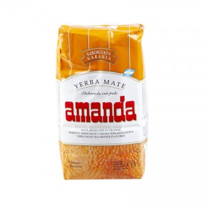 Yerba Mate AMANDA Naranja/Orange 500g