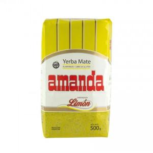 Yerba Mate AMANDA Limón/Limette 500g