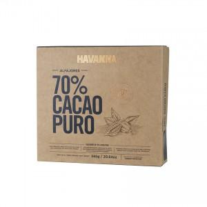 HAVANNA Milchkaramell Schokoladen Bisquits 70% Kakao- 9er Pack- Alfajores 70% Cacao Puro 585g