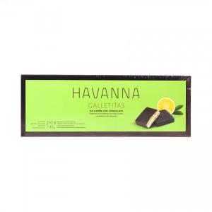 HAVANNA Süße Zitronen-/Schokoladenkekse - Galletitas de Limón con Chocolate, (6er-Pack),210g