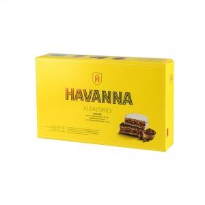 HAVANNA gemischte Milchkaramelle Bisquits (12er-Pack) - Alfajores Mixtos (Pack de 12) 612g