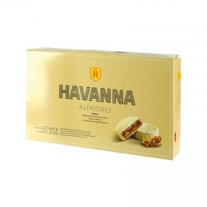 HAVANNA Milchkaramell/Nüsse Bisquits (12er-Pack) - Alfajores Nuez (Pack de 12) 660g