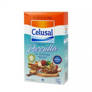 CELUSAL Salz für Grillfleisch - Sal Entrefina para la Parrilla 1kg