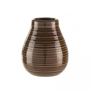 Calabaza aus Keramik (Braun)