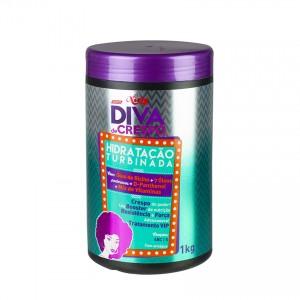 Hidratação Turbinada Diva de Crespo NIELY 1 kg