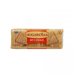 ARCOR Salzcracker aus Argentinien - Galletitas Hogareñas Mix de Cereales, 185g