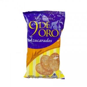 Bizcochos 9 de Oro Azucarados MOLINO CANUELAS 210g