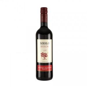 MIOLO Cabernet Sauvignon/Merlot Seleção, brasilianischer Rotwein, 750ml 12,5% vol.