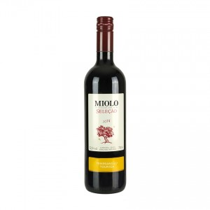MIOLO Tempranillo/Touriga Seleção, brasilianischer Rotwein, 750ml, 12,5% vol.