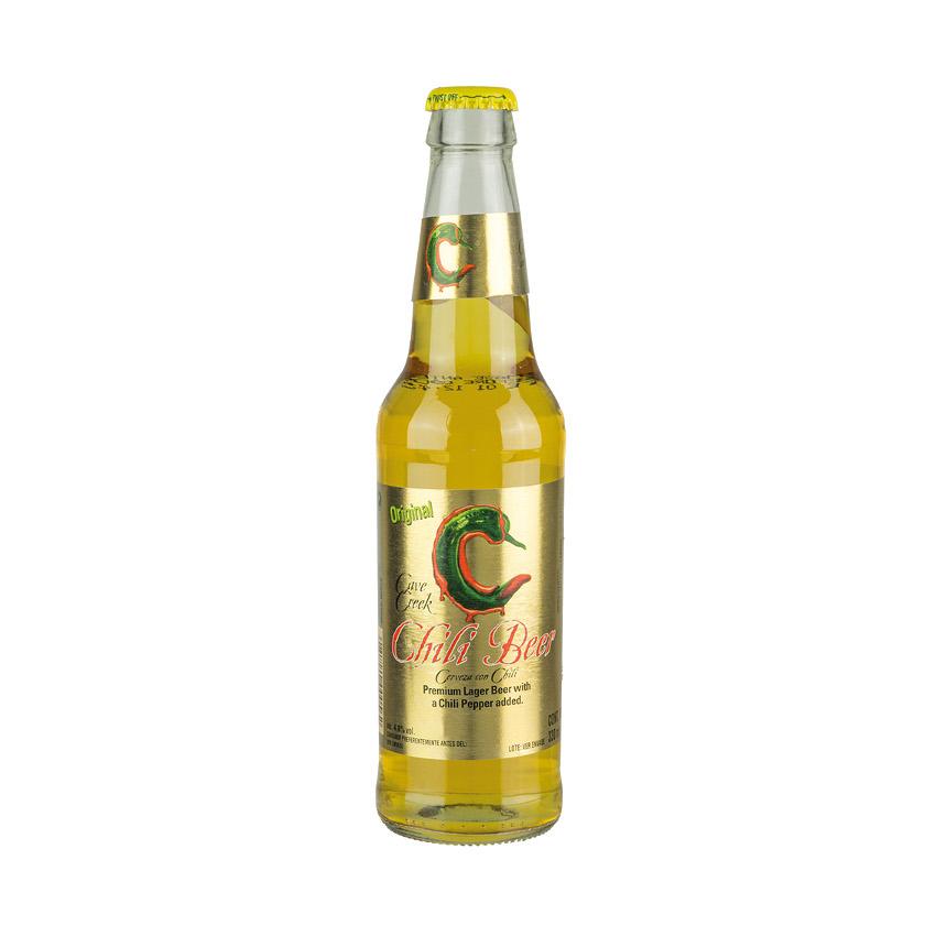 Cerveza CAVE CREEK Chilli Beer, 4,6% vol.