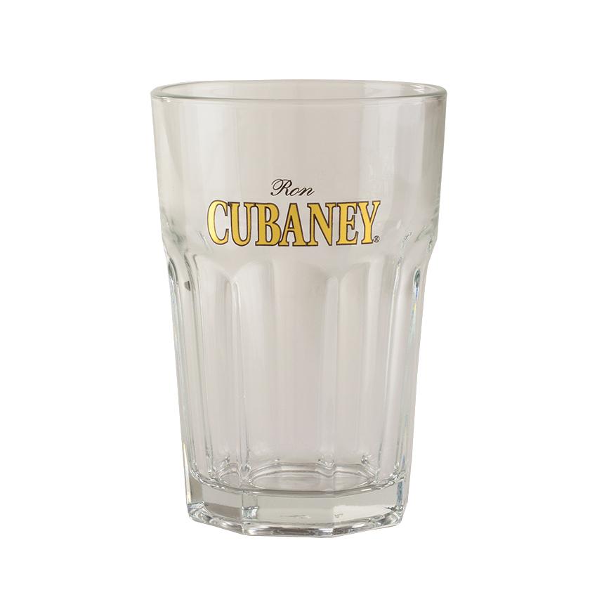 CUBANEY Rum Casablanca-Glas  Vaso de Ron Casablanca 355ml