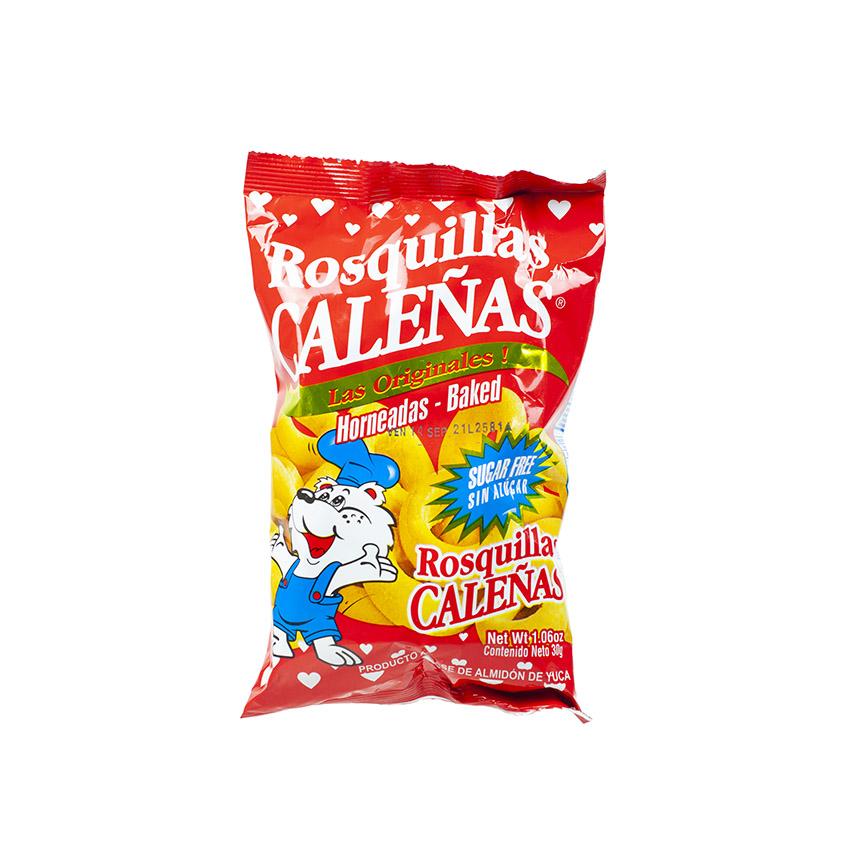 CALENAS - Maniok-Ringe - Rosquillas de Almidon de Yuca, 30g