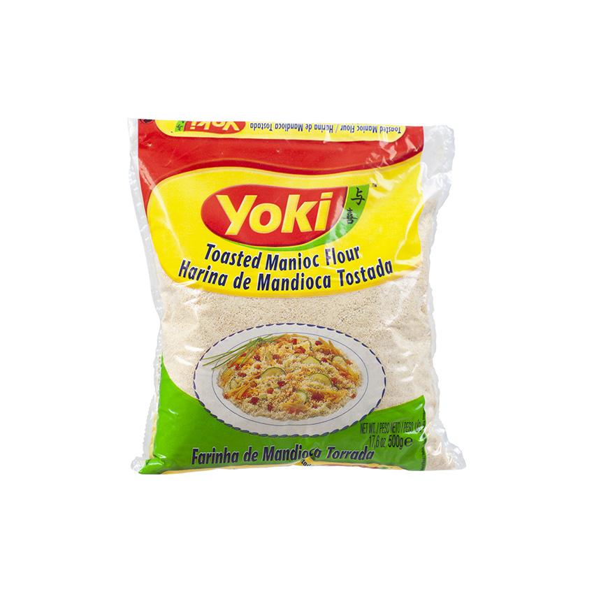 YOKI Maniokmehl, geröstet Farinha de Mandioca Torrada 500g