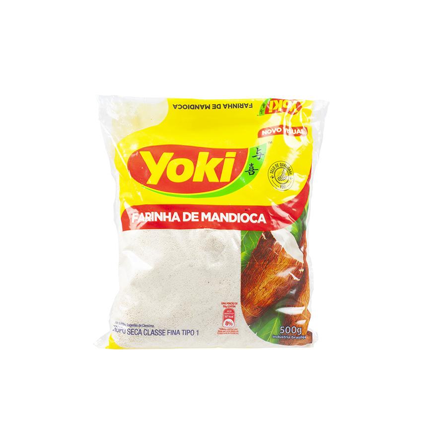 YOKI Maniokmehl, roh Farinha de Mandioca Crua 500g