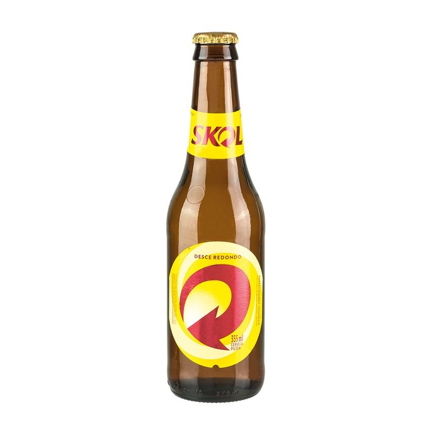 SKOL Bier Flasche 355ml