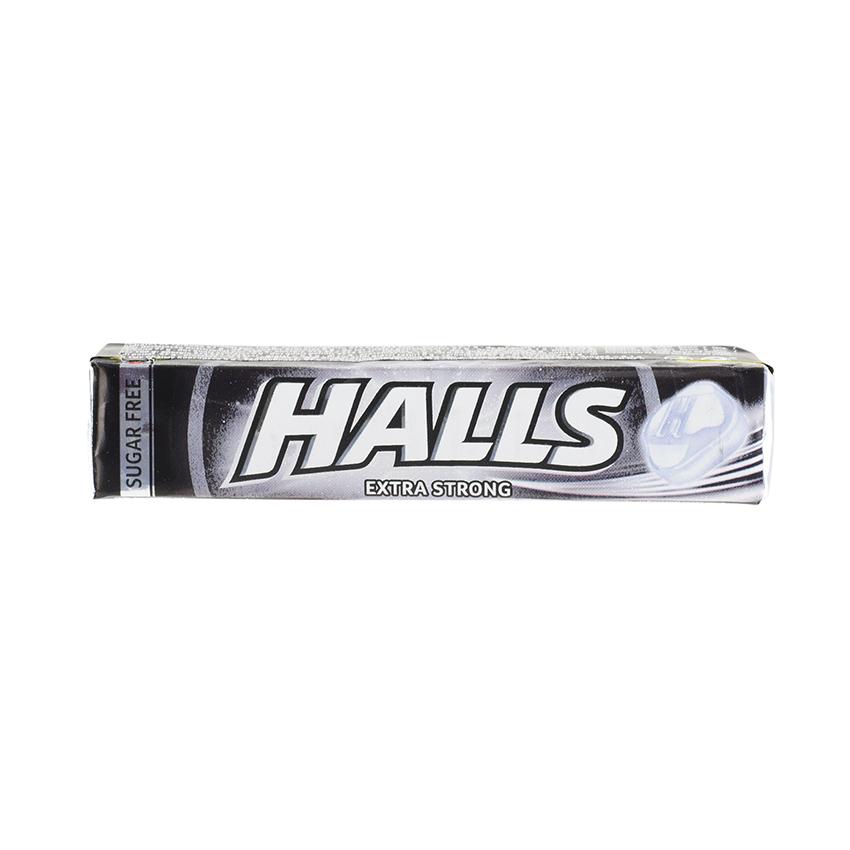HALLS Extra Strong, Sugar Free, 32g