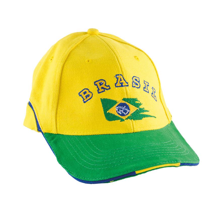 Brasilianische Kappe Boné Brasil