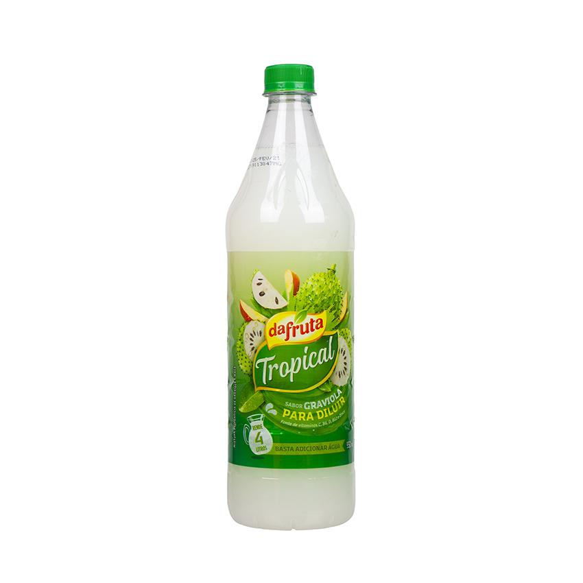 DAFRUTA Tropical Graviola-Fruchtsaftkonzentrat - Concentrado Sabor Graviola, 950ml