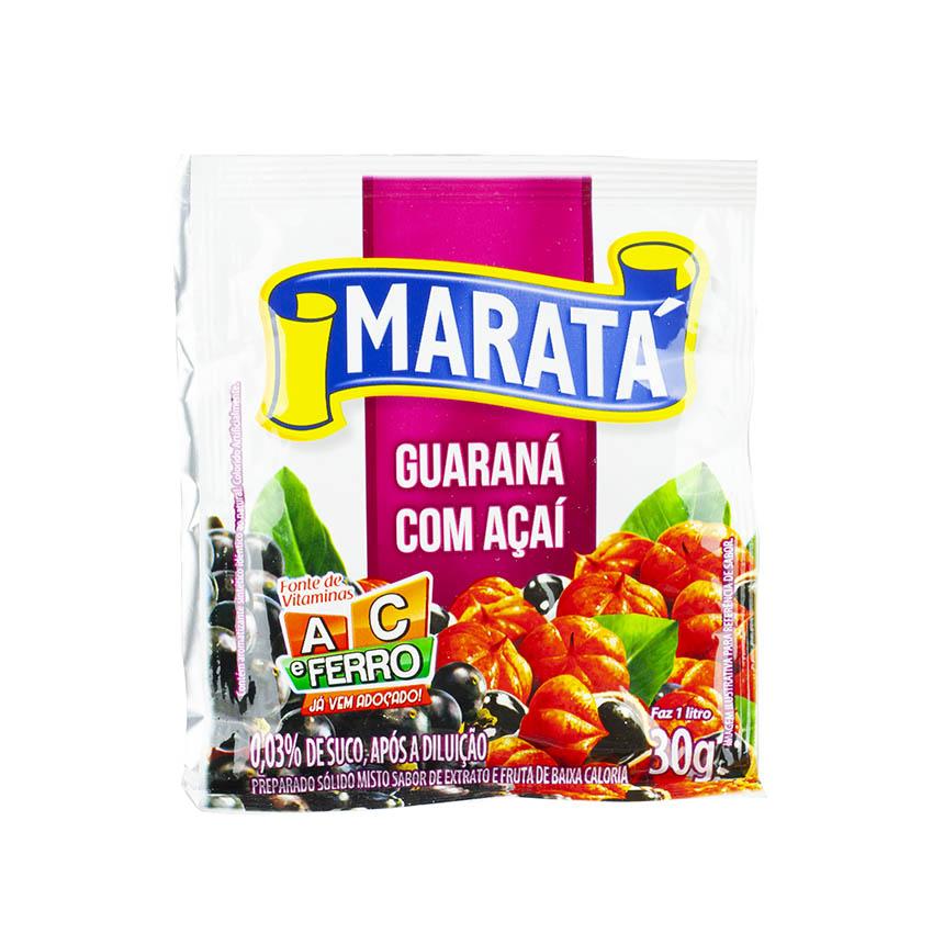 MARATÁ Sabor Açai Com Guaraná 30g