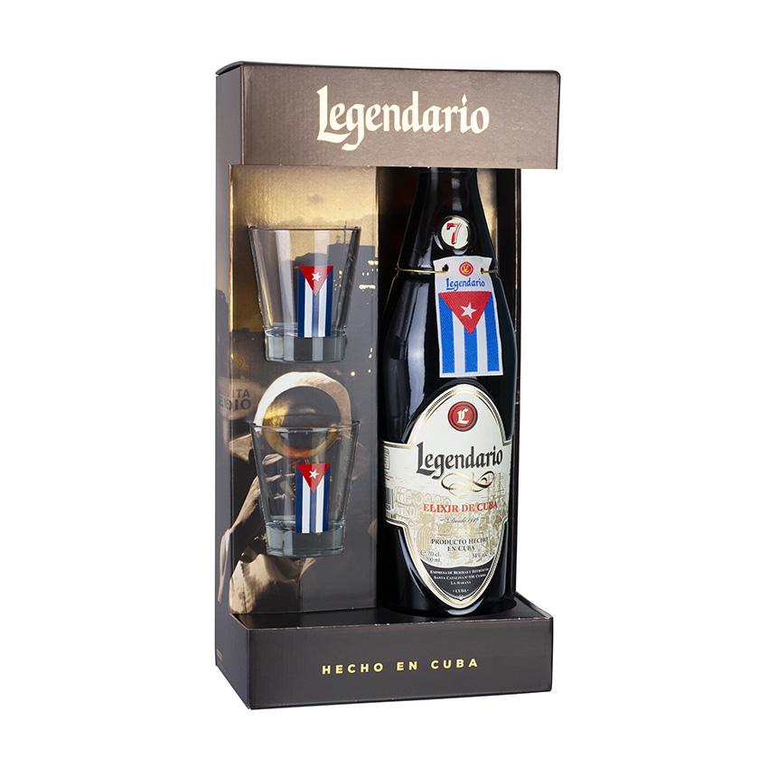 Rum Legendario Elixir Geschenk Set Mit Box Online Kaufen